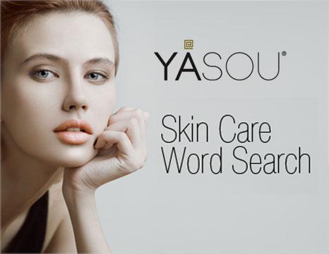 YASOU Skin Care Word Search